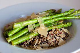 Three girls, one kitchen! ♥ : Makkelijke maaltijd: Rappe risotto met groene asperges