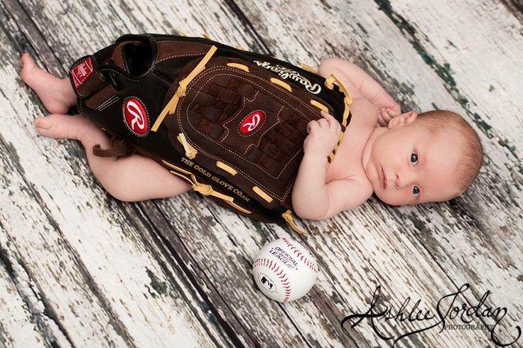 Newborn Baseball Pictures