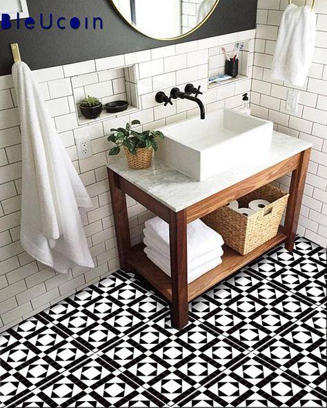 Positano Peel And Stick Tile Decal Removable Kitchen Bathroom Vinyl Tile Stickers Stair Riser Decal For Home Decor Kleines Bad Umbau Bad Inspiration Und Badezimmer Renovieren
