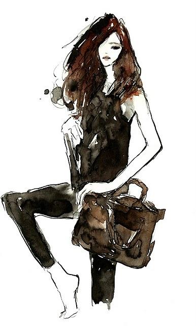 [ Anya Hindmarch ] Vita Yang #fashion #illustration