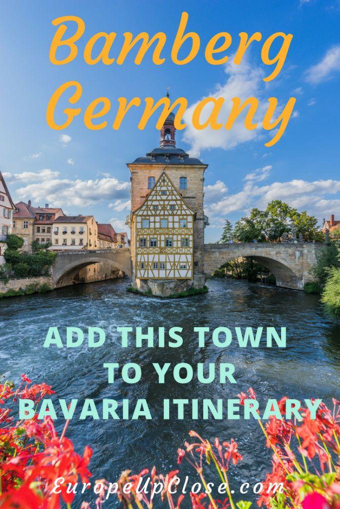 Bamberg Germany - Visit Bamberg - Hotel Bamberg - Historic City Hall Bamberg  #Bamberg #Bavaria #germany