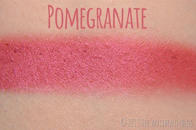 Sleek Makeup Blush - Pomegranate Swatch