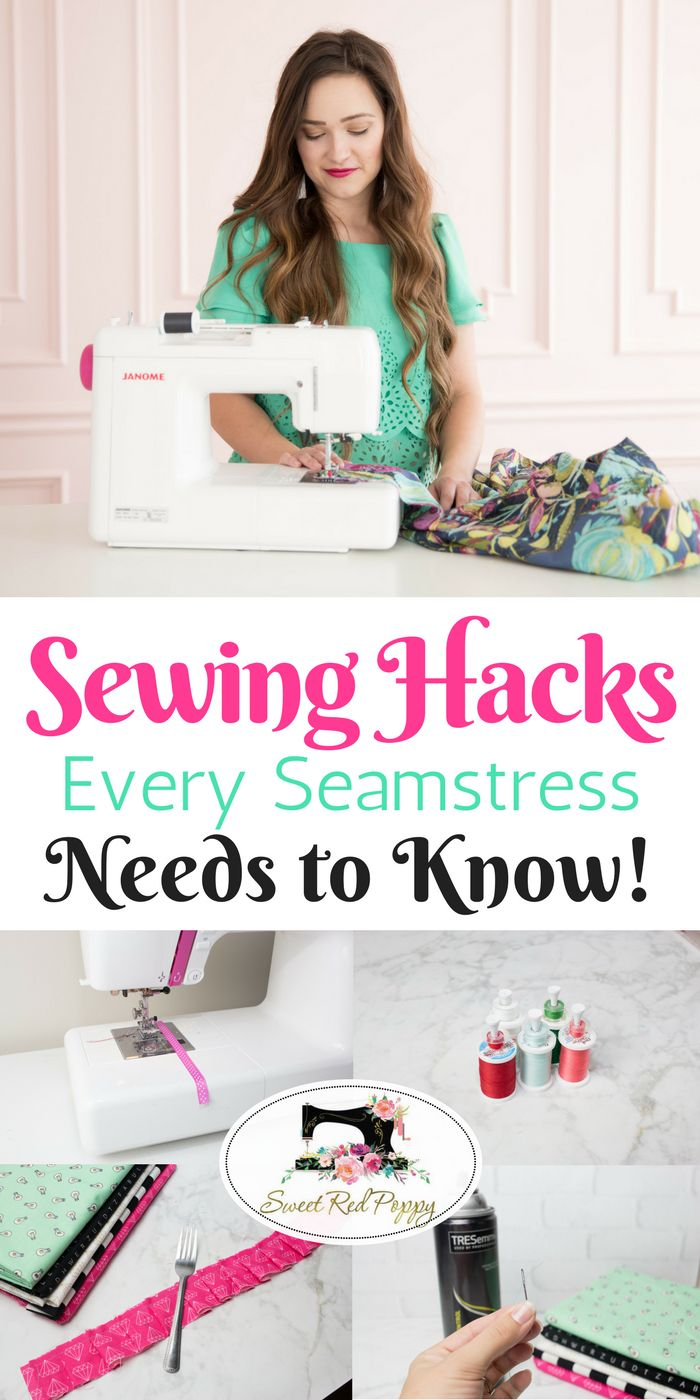 Sewing Hacks, Tips & Tricks Every Seamstress Needs to Know to Save Time & Money!