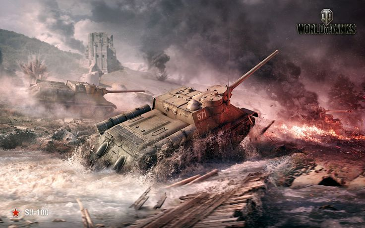 su 100 world of tanks High Definition Wallpapers