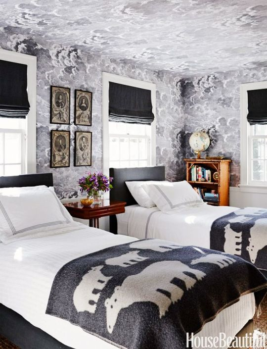 17 Best Images About Upholstered Walls Wallpaper On