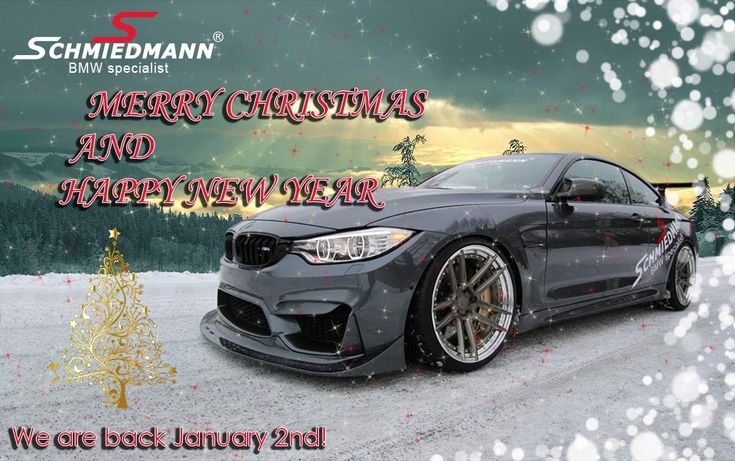 Schmiedmann wishes you a Merry Christmas with lots of BMW & MINI related presents and a Happy New Year, as we head off for Christmas vacation! :D  🎄⛄🎁🎆🎇  We are back in the new year at 2nd of January!  ==================  www.schmiedmann.com  Schmiedmann Odense Phone: +45 65 94 15 45 E-mail: odense@schmiedmann.com  Schmiedmann Nordborg Phone: +45 74 49 11 80 E-mail: nordborg@schmiedmann.com  #schmiedmann #bmwspecialist #bmw #bmwtuning #bmwstyling #bmwparts #spareparts #odense #nordborg