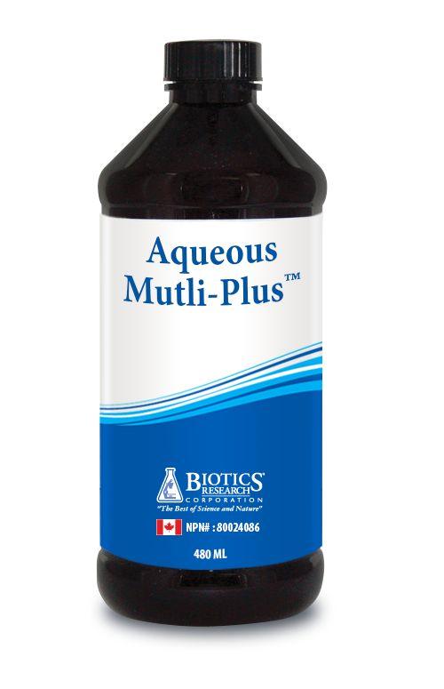 Aqueous Liquid Multiple Vitamin/Mineral Support (no iron & no folic acid for…