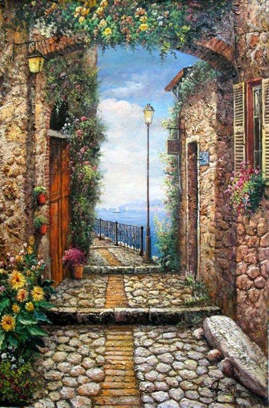 Mediterranean ~ Xiamen Yi Xiang Fine Art