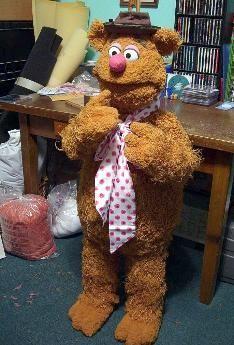 Fozzie Bear Prototype Poser Puppet By Terry Angus Sesame Street Muppets Jim Henson Creature Shop Fozzie Bear