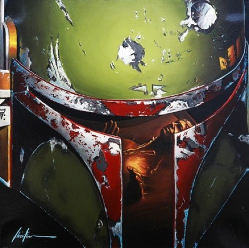 Christian Waggoner's Star Wars Paintings ... | The Khooll