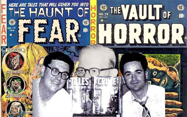 Alex Gravedigger Grand  Bill Field of Screams and Jim Empty Tomb Thompson discuss 1953 and the horror genre.  Was EC Comics the King of Horror?  Who invented horror comics?  What other comics made horror and were they any good?  Why did Crime Comics naturally lead into Horror?  What was the relationship between Bill Gaines and Al Feldstein and who are the best horror comic book artists of the time?  Why did Wertham write anti-comics articles for the Ladies Home Journal?  What psychologically…