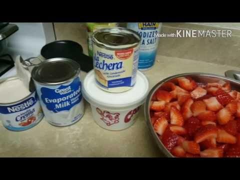 Fresas con crema - YouTube