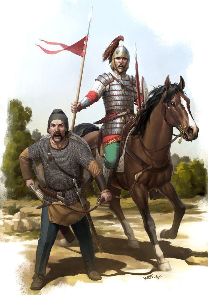 Visigoth Warriors by wraithdt.deviantart.com on @deviantART