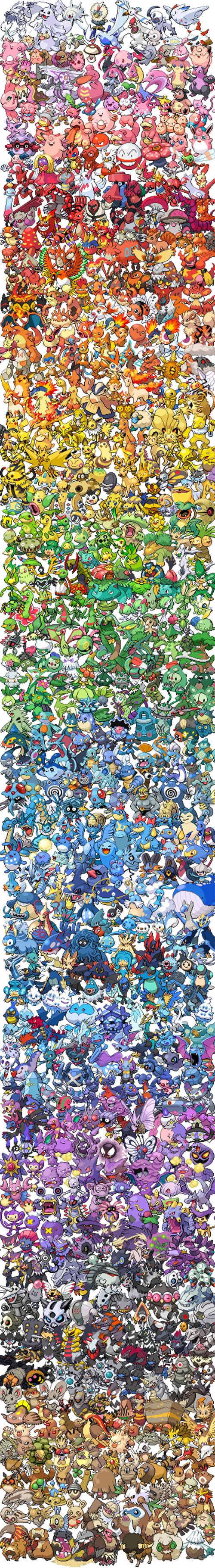 When I first saw this a saw my favorite Pokémon ever first (spheal) try and find your favorites!!