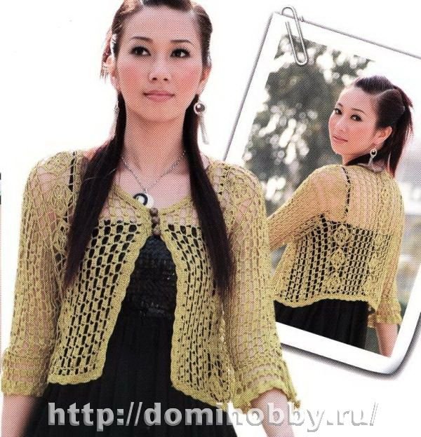 Summer sweater with diagrams, use web translator for written instructions