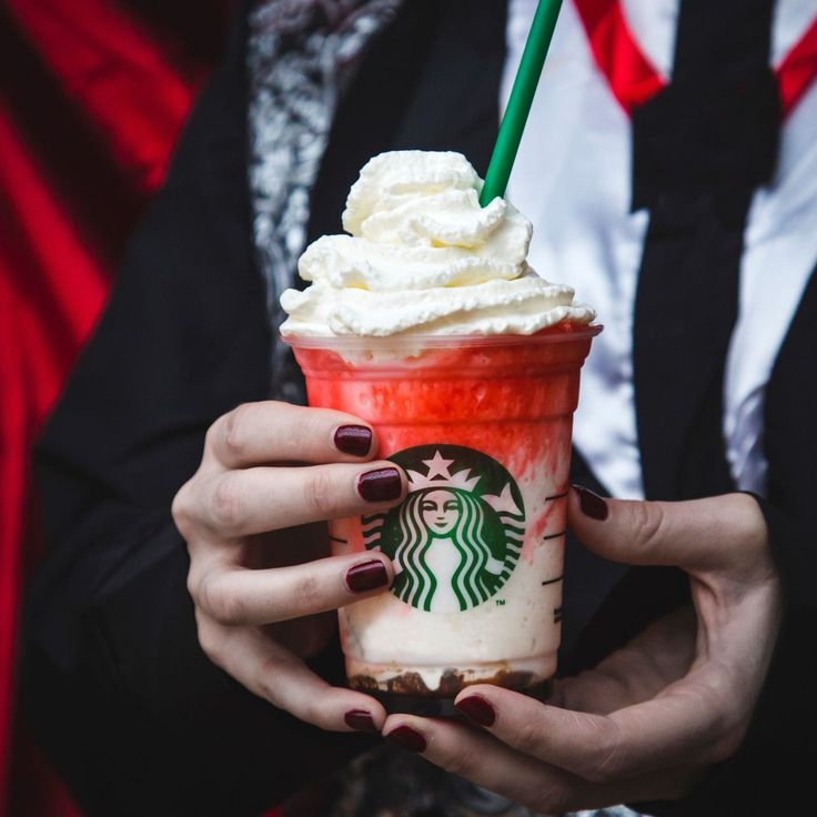 "You MUST try Starbuck's new ~Halloween~ drink available for  a limited time. Made with mocha sauce, whipped cream, white chocolate, and raspberry syrup, this tasty treat will be available from October 28-November 1. Here's everything you need to know about this ""vampire-inspired"" drink!"