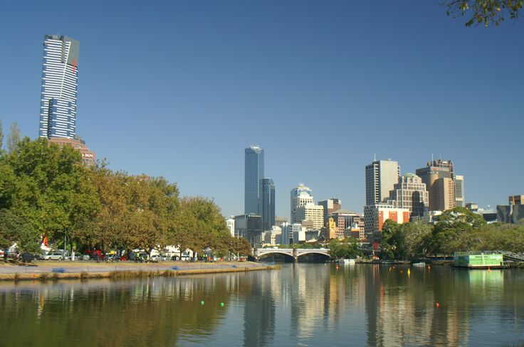 Marvellous Melbourne on the Yarra river