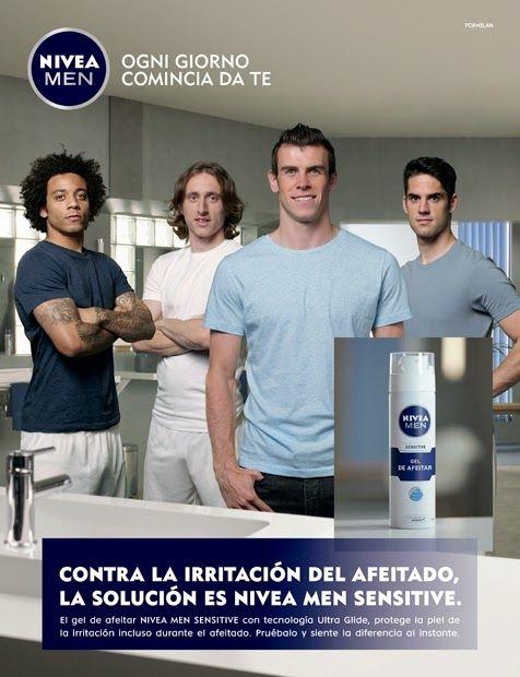Angel García, Photographer: Nivea Men Sensitive y 5 estrellas del Real Madrid....