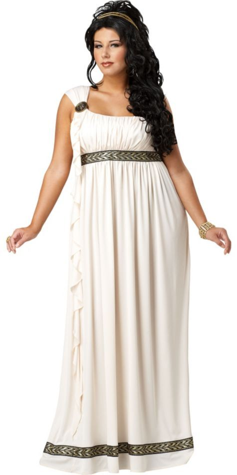 Adult Olympic Goddess Costume Plus Size - Party City | My