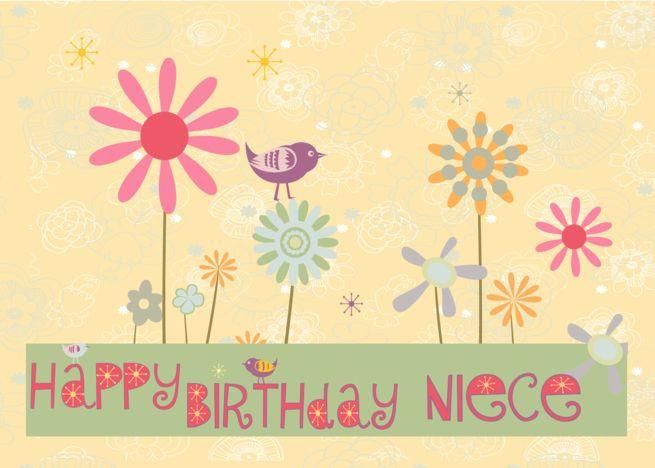Happy Birthday Niece Funky Fun Birthday Card For Girl Card Ad Ad Niece Birthday Ha First Birthday Cards Kids Birthday Cards Birthday Cards For Niece