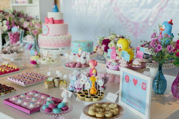 minhafilhavaicasar mesa bolo doces festa de 1 ano 42