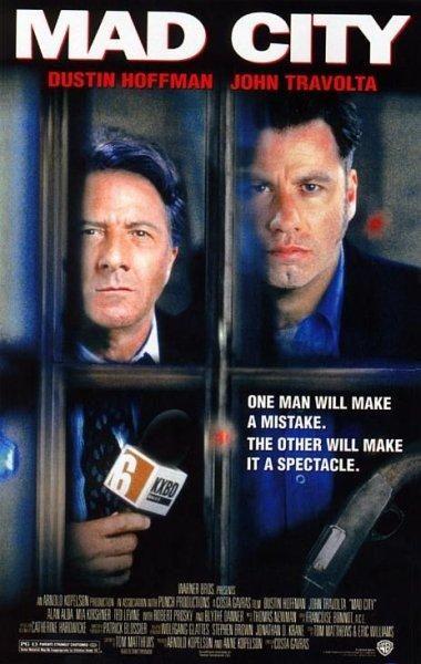 Mad City (1997) EEUU. Dir: Constantin Costa-Gavras. Drama. Periodismo. Televisión - DVD CINE 221