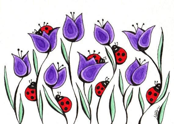 Flower Garden Doodle