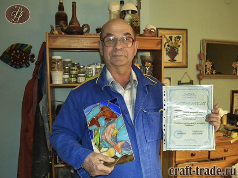 Школа витража Рукоделец - обучение созданию витражей тиффани своими руками