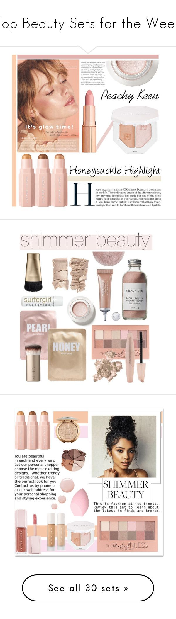 """""""Top Beauty Sets for the Week"""" by polyvore ❤ liked on Polyvore featuring beauty, Puma, Lapcos, Maybelline, Forever 21, French Girl, Stila, By Terry, Christian Dior and Ilia"""