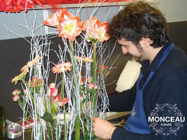 Sergi González para Monceau Fleurs Madrid http://www.blogmonceaufleurs.com/2013/04/entrevista-florista-sergi-gonzalez.html