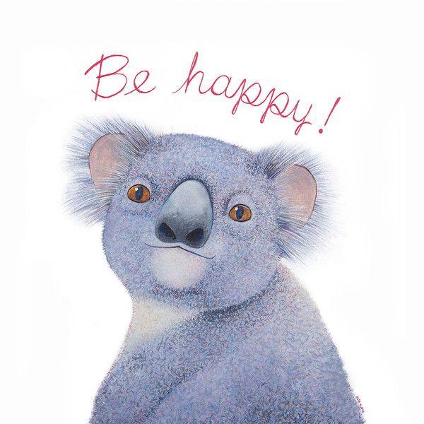 Be Happy.! Art Giclée Print⎢Available in: Dulce Porvenir Print Shop (30 €)
