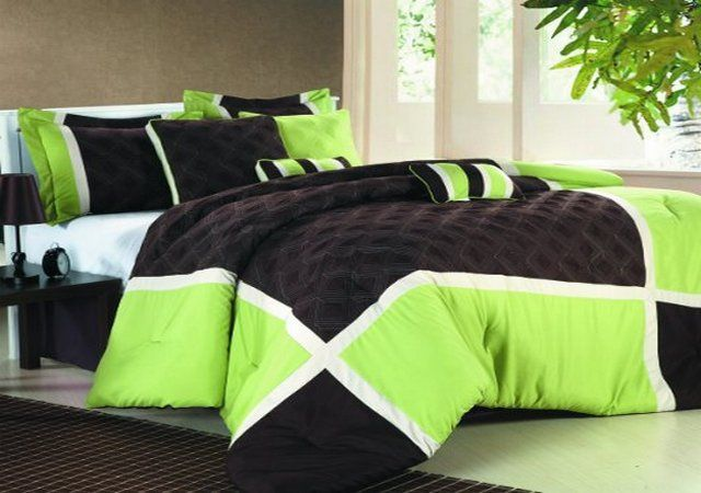 lime green bedding sheets  i want