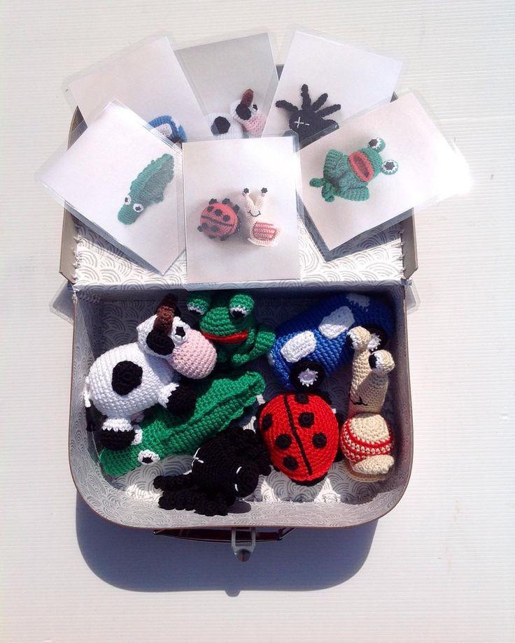 de2livsnydere:: Nok en #sangkuffert #crochet #häkeln #hæklet #amigurumi #crochetanimal