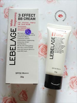 RANDOM THOUGHTS.: [Review]: White Programing 3effect BB Cream (SPF50...