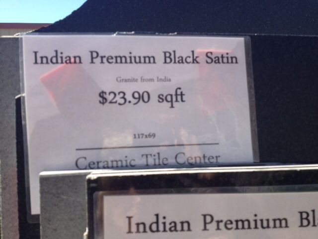 Black Absolute Satin