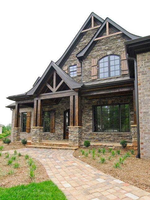 Exterior : Milestone Custom Homes