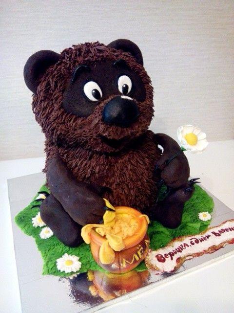 Детский торт Винни-пух