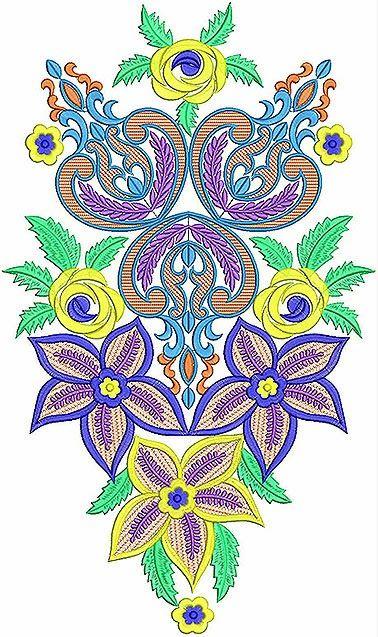 Swaar borduurwerk pleister