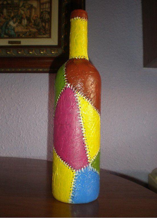 17 best images about botellas on pinterest mesas bottle - Botellas de plastico decoradas ...