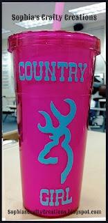Country Girl tumbler