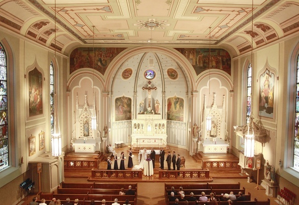 Beautiful Catholic Church-would love to get married here
