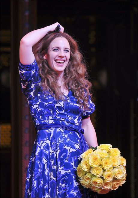 Jessie Mueller takes her final bow as Carole King