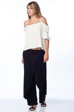 Mİ&SO - Siyah Pantolon 3099 sadece 24,99TL ile Trendyol da