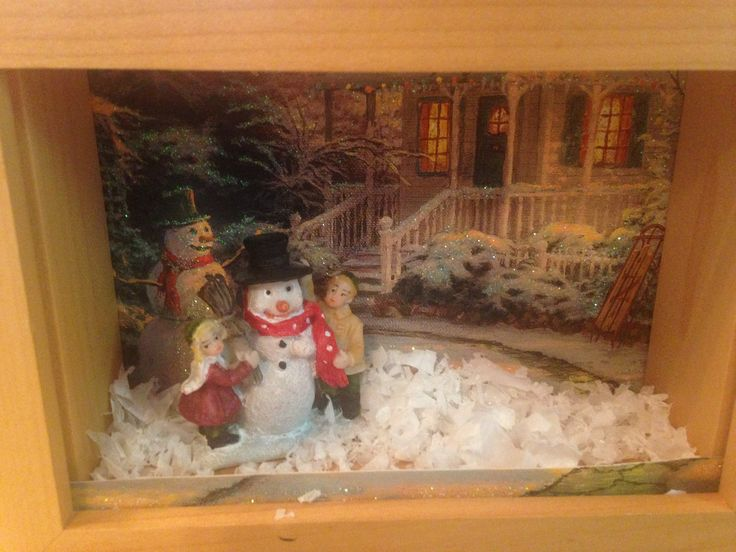 2016 Christmas/Winter Shadow Box