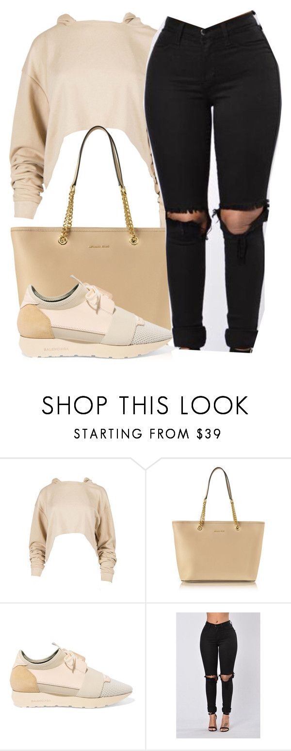 """""""One Day   Tory Lanes"""" by alexanderbianca ❤ liked on Polyvore featuring Michael Kors and Balenciaga"""