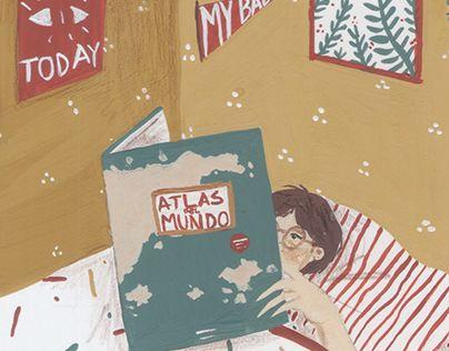 "Check out new work on my @Behance portfolio: ""Atlas del mundo"" http://be.net/gallery/52677335/Atlas-del-mundo"