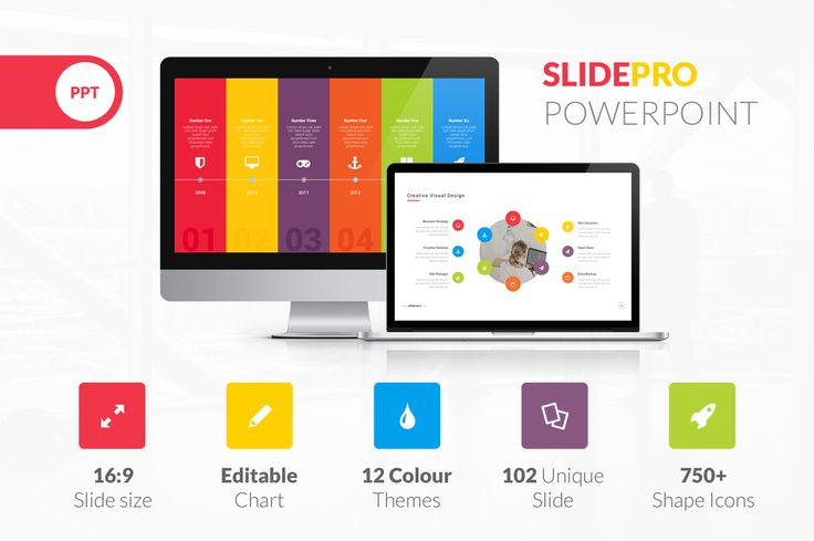 SlidePro Powerpoint Presentation by vuuuds on Creative Market