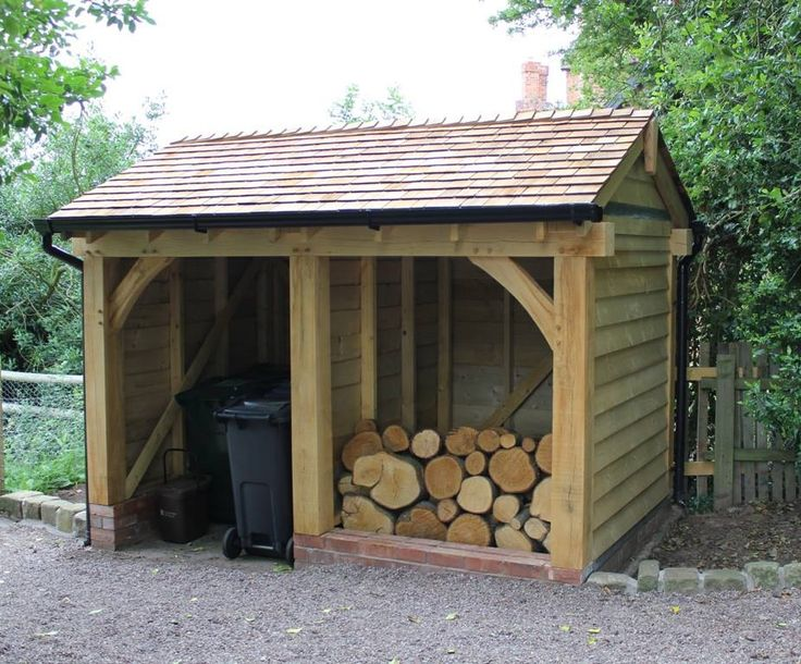 Log store ~ Cheshire Oak Structures