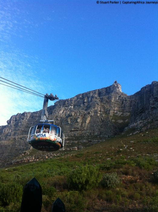 Photos from Table Mountain - Cape Towns most iconic landmark | CapturingAfrica Journeys -  				The Table Mountain Aerial Cableway