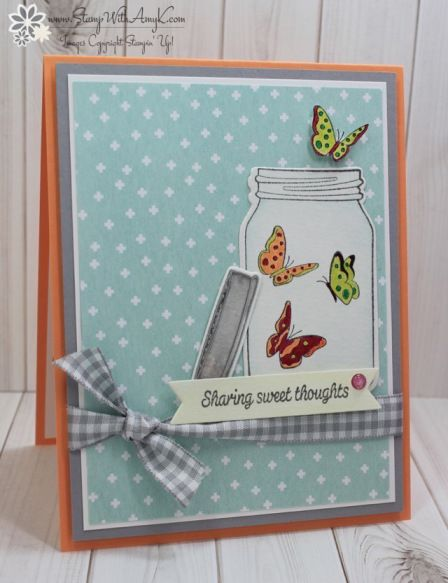 Stampin' Up! Sharing Sweet Thoughts for the Happy Inkin' Thursday Blog Hop